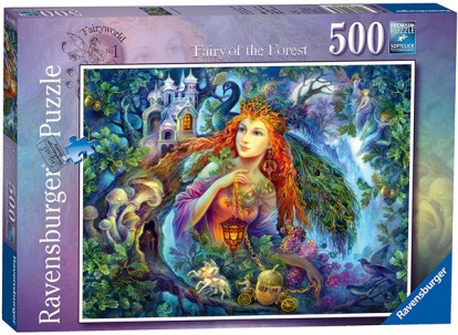 strelkina fairy of the forest ravensburger 1000