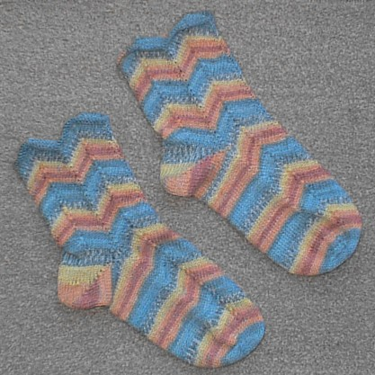 Pair of Zebedee Socks