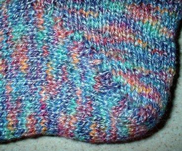 Fruit Gum Socks, heel