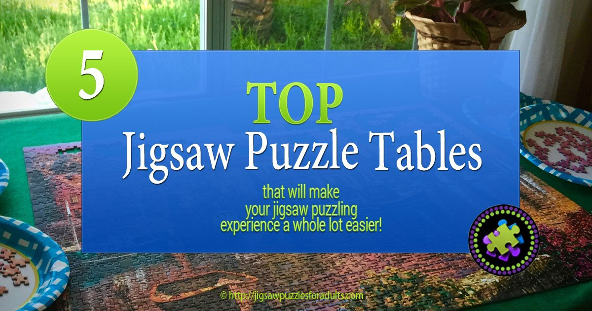 Jigsaw Puzzle Table Top