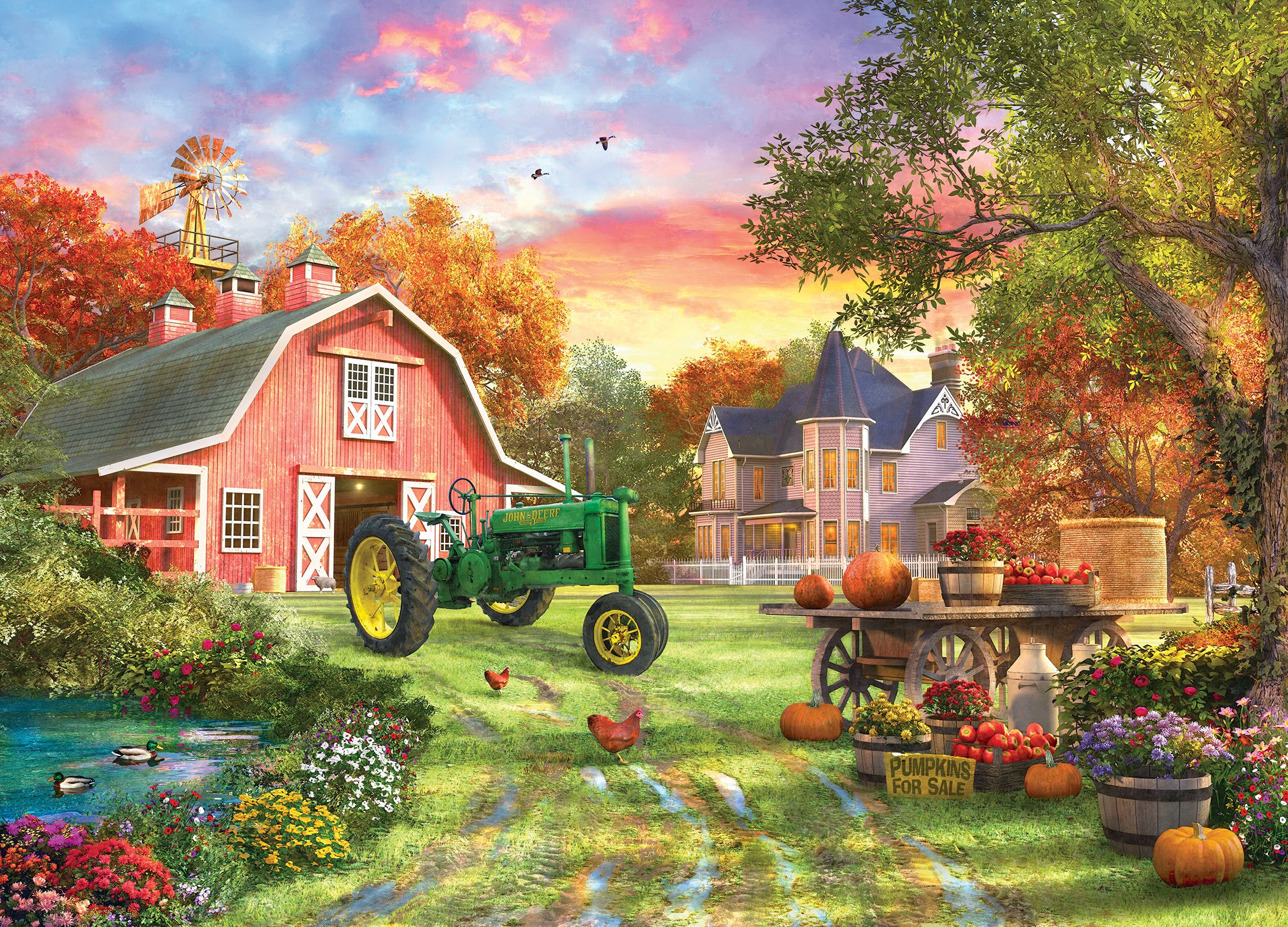 John Deere Jigsaw Puzzles Jigsaw Puzzles For Adults