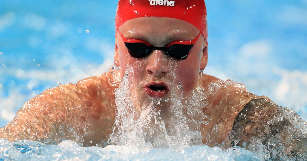 Adam Peaty wins