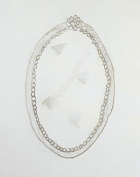 jijjysmaison vintage mirror sketch