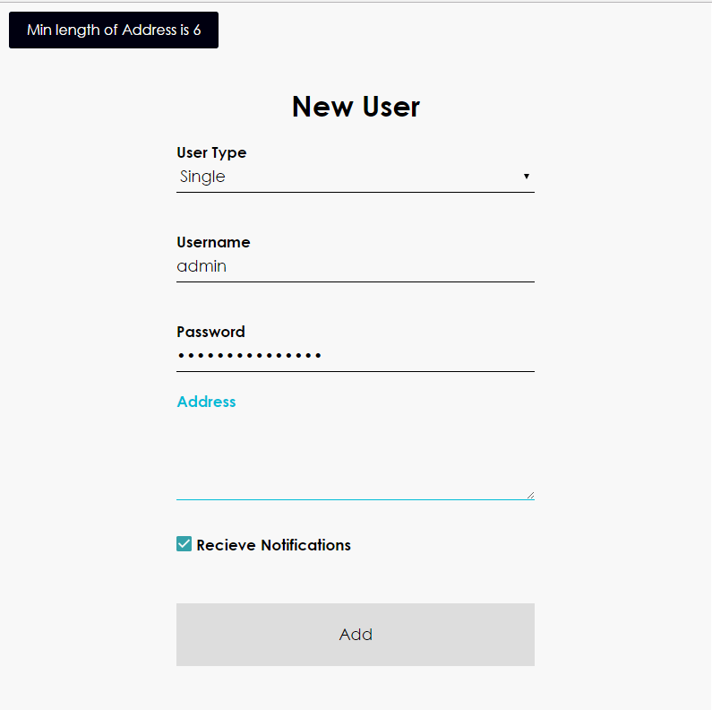 Javascript form validation plugin at work