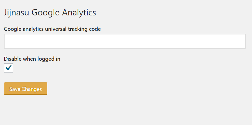 jijnasu wordpress google analytics
