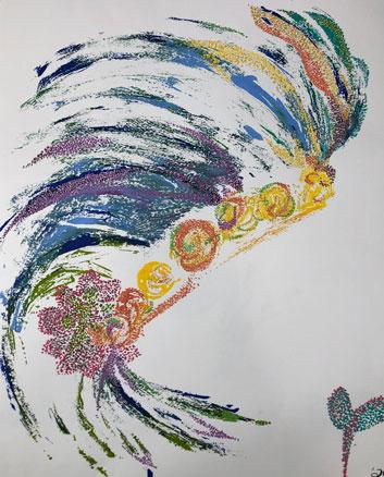 Blackfoot Rose by Jik Jak Art