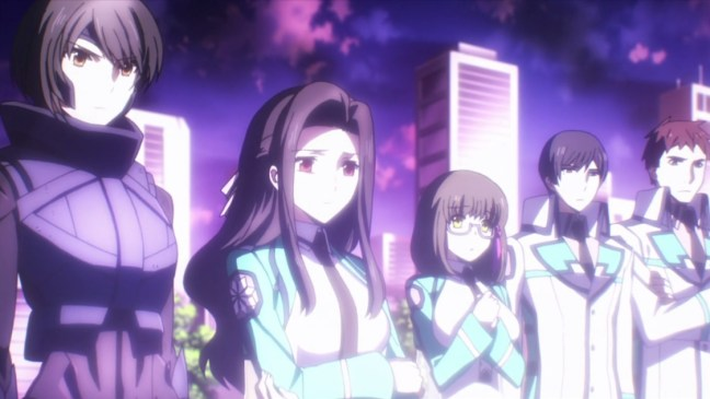 Mahouka Anime Ending and Cast