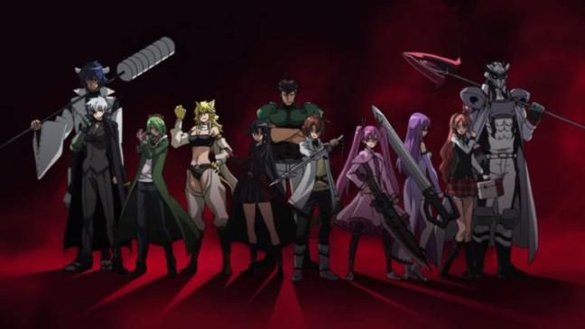 Akame ga Kill Night Raid Legacy