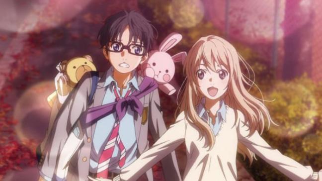 Kousei and Kaori Date