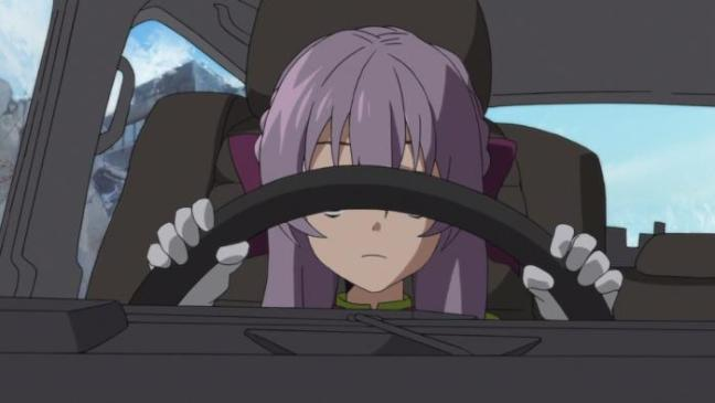 Owari no Seraph Ep 8 Summary Shinoa Driving