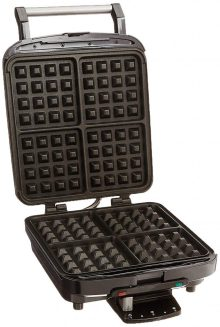 cuisinart belgian Waffle maker for induction hob, silver colour