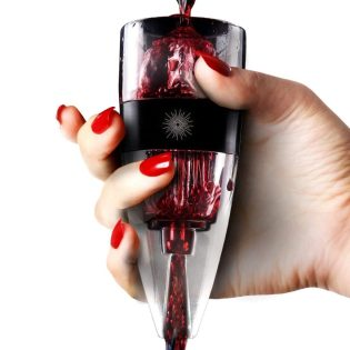 vinluxe wine aerator pourer without removing cork