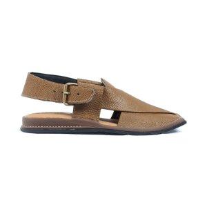Mashaal-Tan-Mens-Handmade-Leather-Peshawari-Chappal-Pakistan-UK