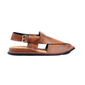 Mashaal-Tiger-Mens-Handmade-Leather-Peshawari-Chappal-Pakistan-UK