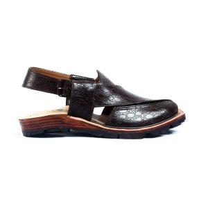 Narozi-Brown-Mens-Handmade-Leather-Peshawari-Chappal-Pakistan-UK