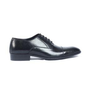 Pablo-Black-Mens-Handmade-cap-toe-Oxford-Leather-Dress-Shoes-Pakistan-UK
