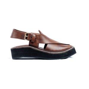 Sultan-Brown-Mens-Handmade-Leather-Peshawari-Chappal-Pakistan-UK