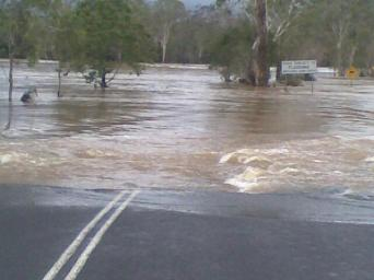 Our Flooded Road