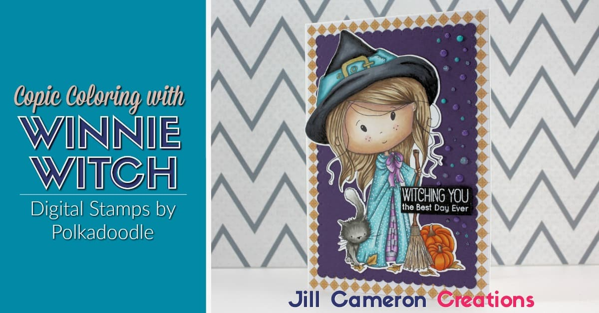 Copic Coloring Winnie Witch - Jill Cameron Creations