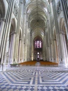 St. Quentin Cathedral Labyrinth