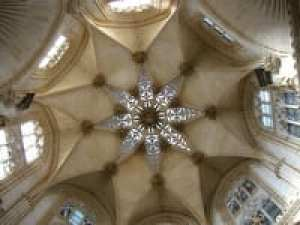 Ceiling of Burgos Cathedral in Spain photographed by Jill K H Geoffrion