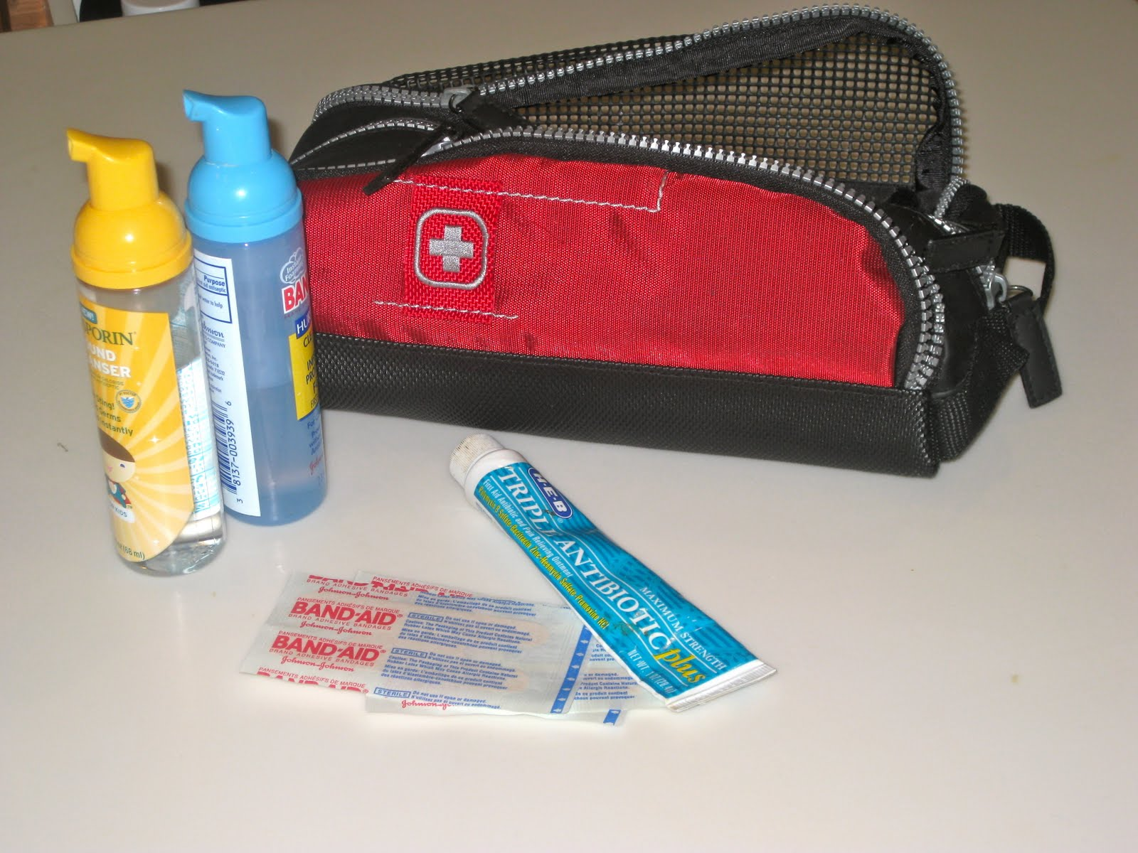 A Doctor's Travel First Aid Kit