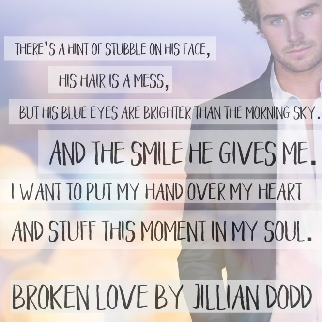 From USA Today Bestselling Author Jillian Dodd . . . A broken love story. After years of crushing and many failed seduction attempts, Palmer Montlake had finally scored the sexy Cade Crawford. Both a little drunk when they got back to her place, they were frantic with need, their desire intense. But as the night progressed, the hot-mess hookup morphed to sweet lovemaking. The kind neither had ever experienced. But they were destined for heartbreak. She was his best friend's little sister. He was her talent agent. And they were dating in secret. When they got into a wicked fight and broke up, all hell broke loose. The kind neither have recovered from. Six years later, they still hate each other. But the universe seems to keep throwing them together. When they catch the bouquet and garter at a mutual friend's wedding, sparks fly between them — their chemistry undeniable. Will they get a second chance? Or will they be left with a broken love? BROKEN LOVE is a STANDALONE, CONTEMPORARY ROMANCE NOVEL following Cade and Palmer from the USA Today Bestseller, Vegas Love. The Love Series is a series of STANDALONE novels featuring a different Crawford sibling. They can be read by themselves. However if you do wish to read them all, they are best enjoyed in order.