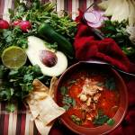 Red Chicken Pozole