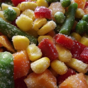 Frozen Prepared Vegetables
