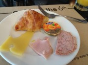 Sampling my favourite pair: cold cuts & cheese