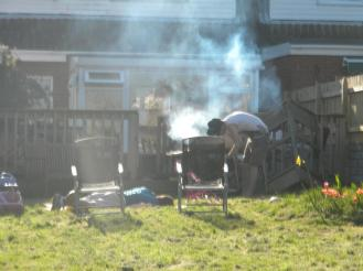 BBQing is very important in the summer time!