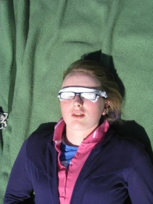 Eye protection!