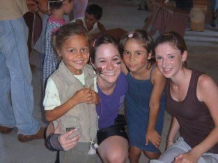 The girl on the left is our little gypsy girl!