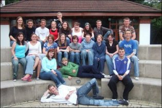 This is my first year team at our training!