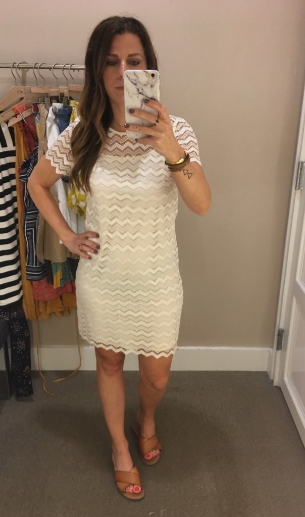 cream lace overlay