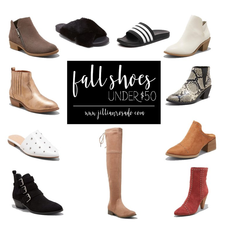FALL SHOES FOR UNDER $50