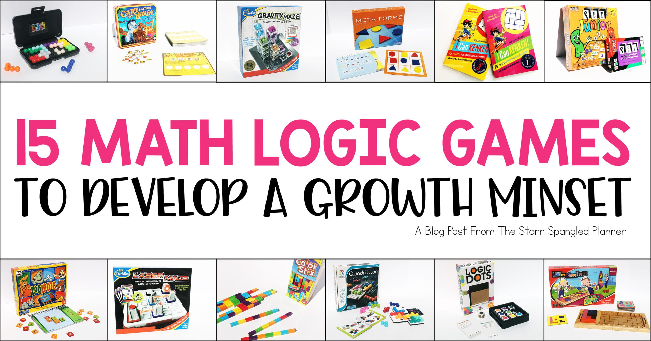 Math Logic Puzzles to develop a growth mindset