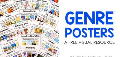 Genre Posters: A free visual resource