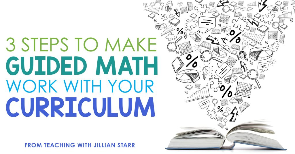 How do I teach Guided Math if I have a scripted curriculum?  Teaching math in a workshop model helps you create targeted, differentiated lessons to your small groups, while implementing engaging math centers for your students to practice essential skills. If you're looking to get started, but not sure how, here are three great times to make guided math work with your curriculum.