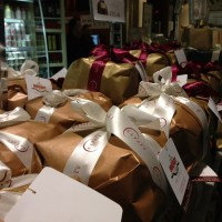Panettone Time:  Lots of them at Eataly