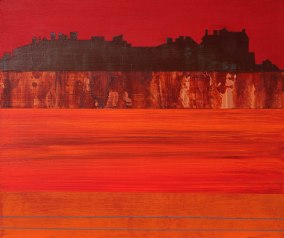 Edinburgh Castle in the autumn - sold