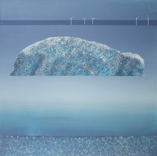 Bass rock with turbines - sold