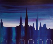 Luxembourg skyline - sold