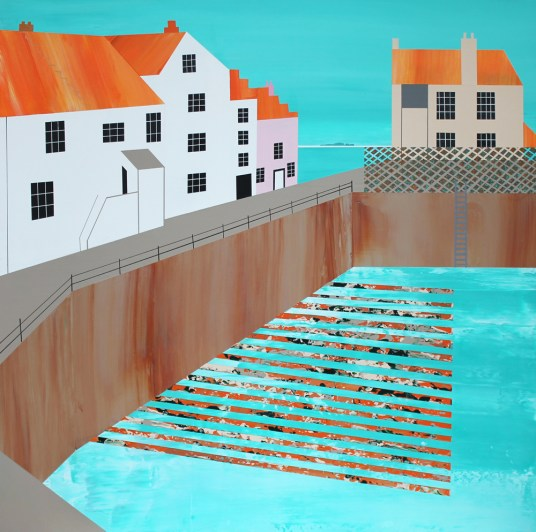 Creels and low tide, Pittenweem