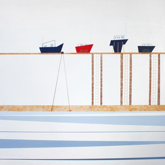 *Floating boats, St Monans - sold