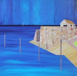 The blue window, Lower Largo - sold