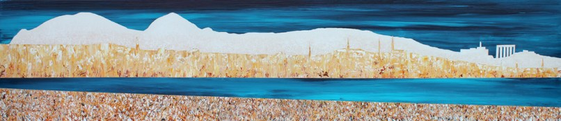 Edinburgh skyline from Musselburgh - sold