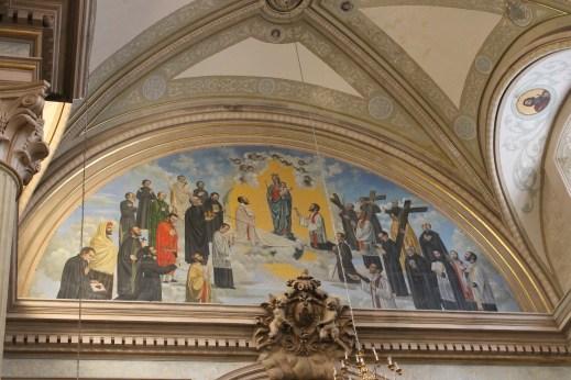 main mural Sn. Juan Nepomuceno Saltillo--don't miss it on the Holy Week pilgrimage!