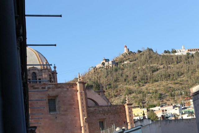 Vista de Cerro La Bufa en Zacatecas