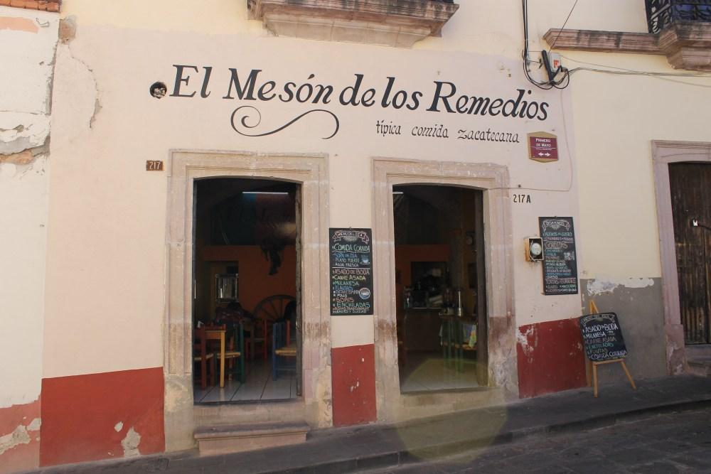 Meson de los Remedios, Zacatecas